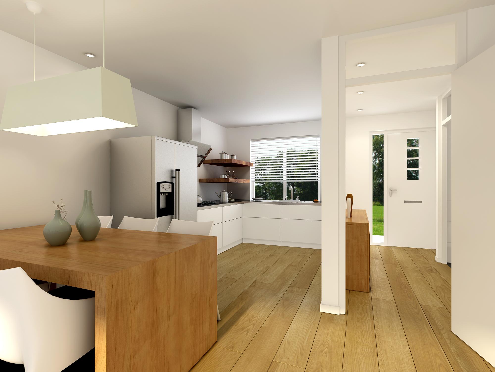 Nieuwbouw Keuken Kosten : Herveld – Bloemenveld – hoekwoning – Ten Brinke Groep
