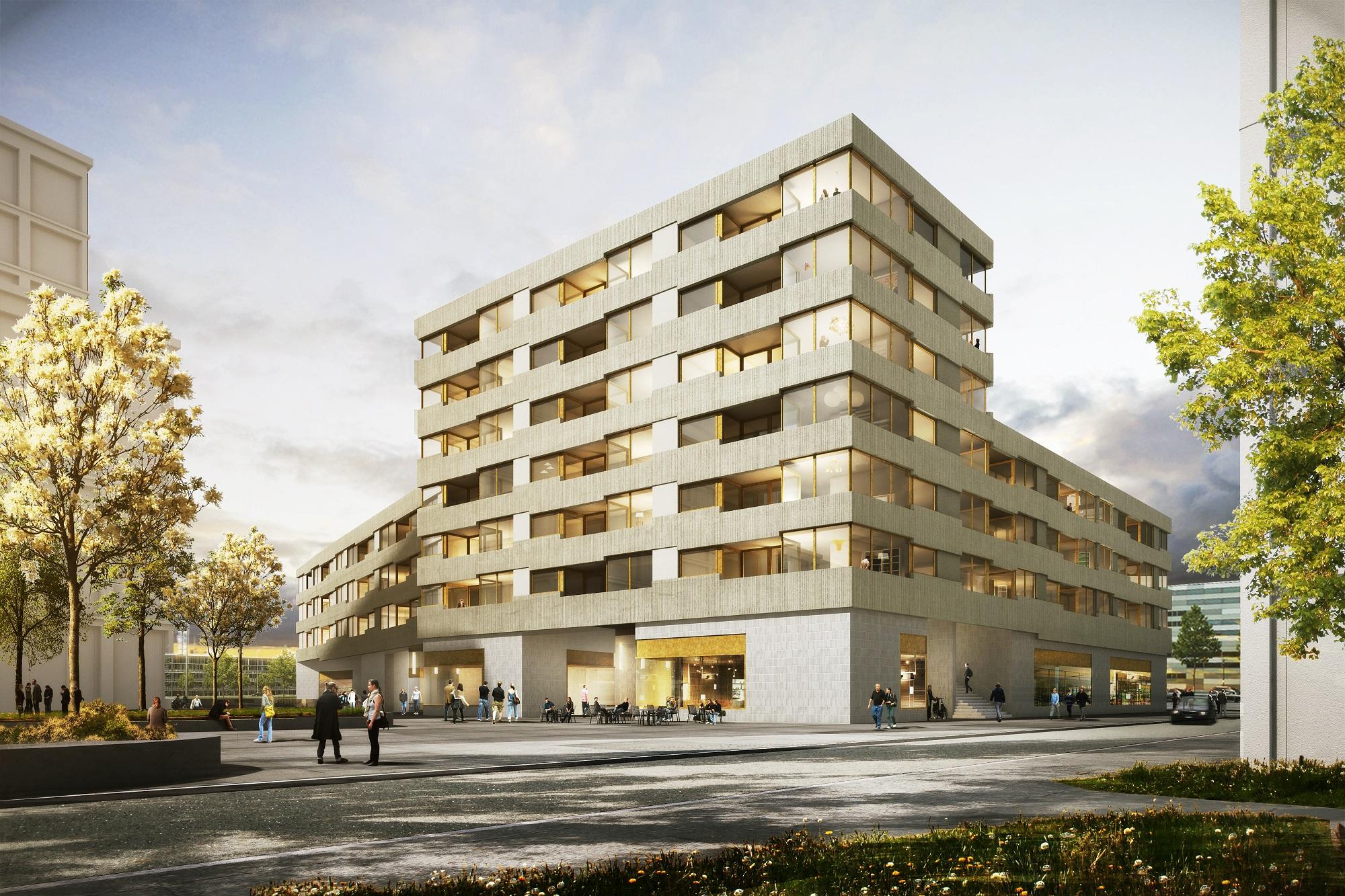 München-Riem: Neubau eines Wohn- und Geschäftshauses - Ten Brinke Bayern
