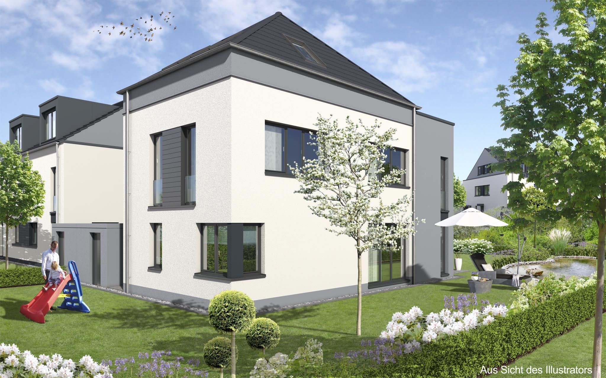 Reihen Doppelhäuser Und Freihstende Häuser In Bad Homburg Ober