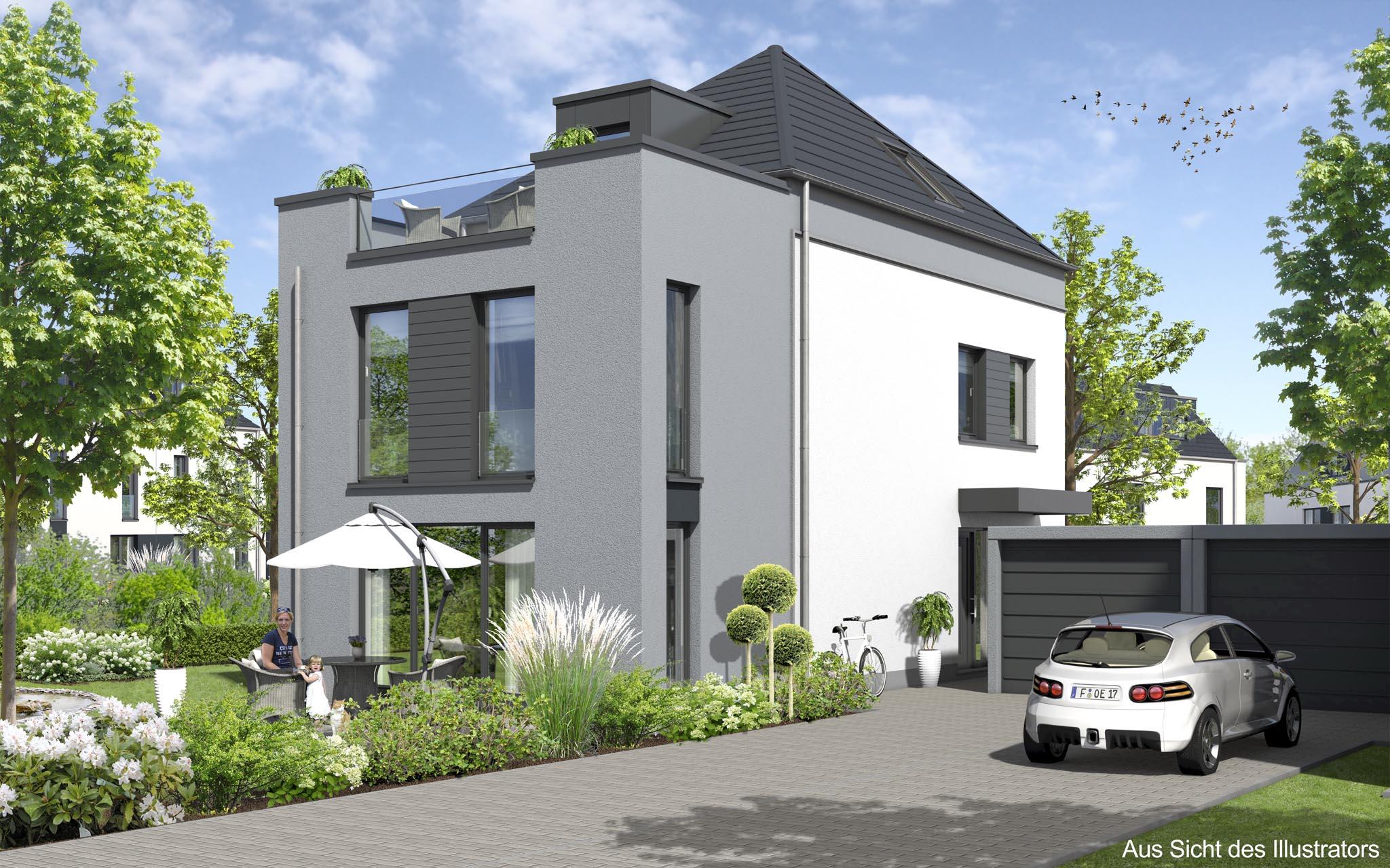 Reihen- Doppelhäuser und freihstende Häuser in Bad Homburg Ober ...