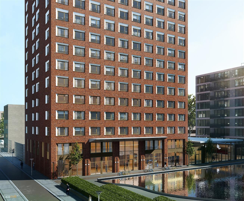 Nieuwbouw van 481 appartementen voor studenten ten for Nieuwbouw den haag