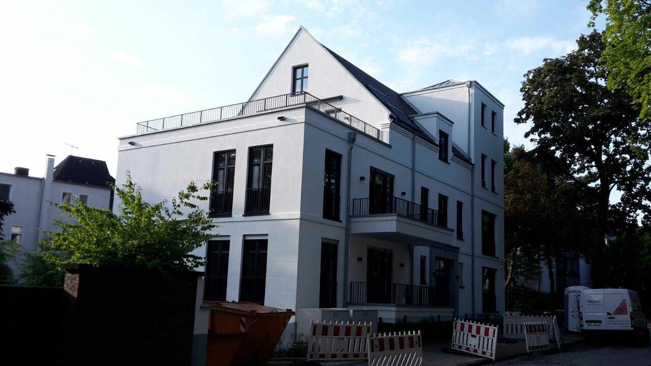 Baufortschritt neubau mehrfamilienhaus in essen bredeney for Mehrfamilienhaus neubau